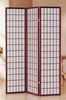 Dean Cherry Pine Wood/Rice Paper Room Divider by Milton Greens Stars