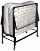 """Framos Black/White Rollaway Bed w/30"""" Mattress by Furniture of America"""