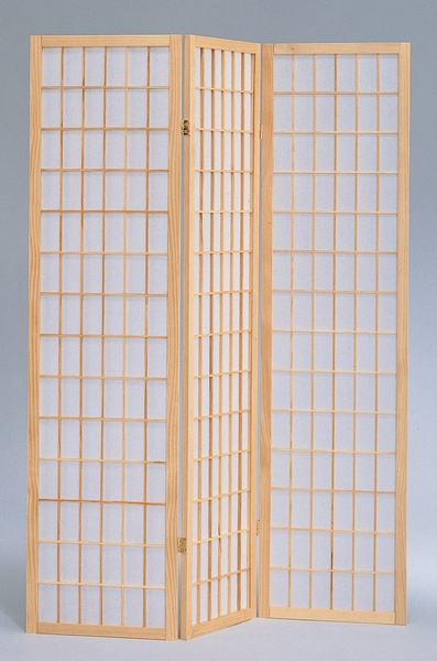 Dean Natural Pine Wood/Rice Paper Room Divider by Milton Greens Stars