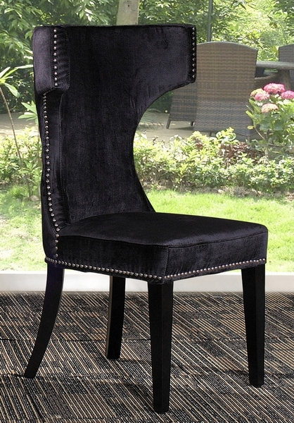 Modrest Alto Modern Black Fabric Side Chair by VIG Furniture