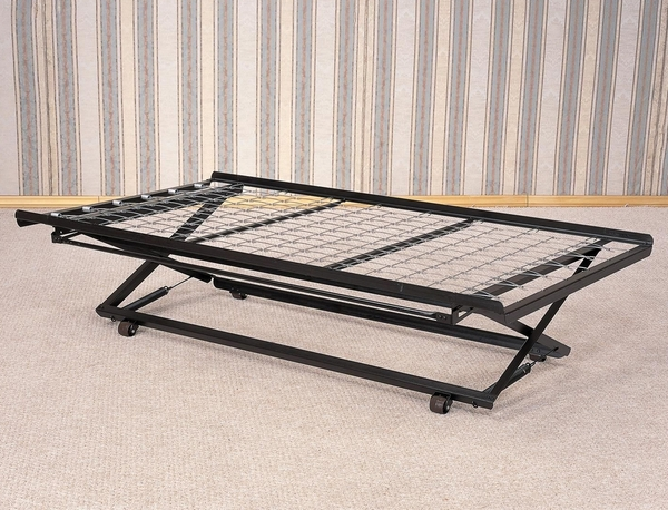 Black Metal Pop-Up Trundle for Daybeds by Coaster
