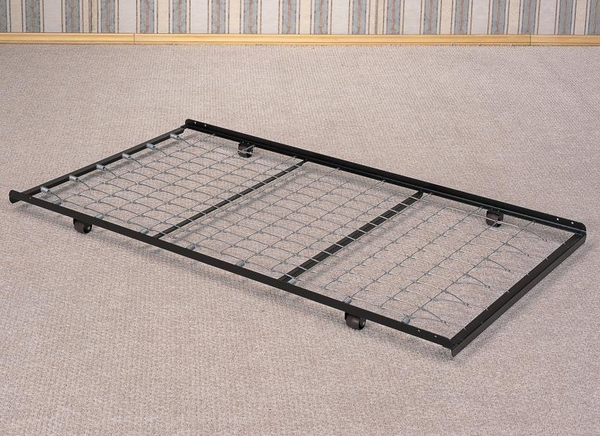 Black Metal Roll Out Trundle for Daybeds by Coaster