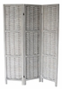 Cole Washed Gray 3-Panel Room Divider by Milton Greens Stars