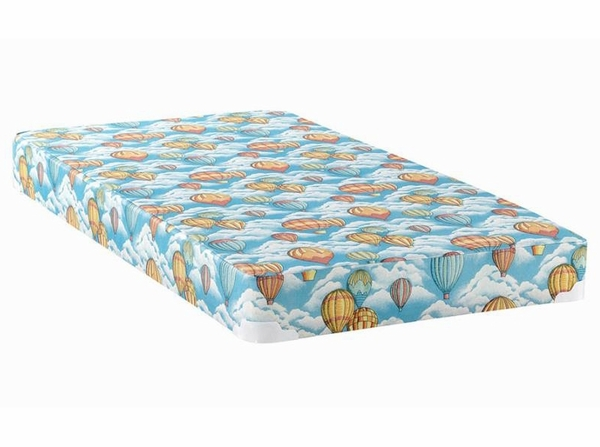 """Balloon 5"""" Full Combo Foam Mattress with 2"""" Wood Bunkie by Coaster"""