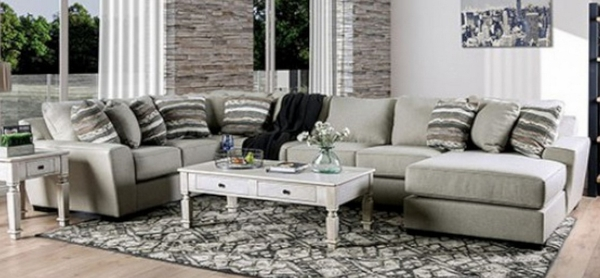Colstrip3-Pc RAF Sectional Sofa (Oversized) by Furniture of America