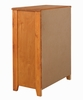 Wrangle Hill Amber Wash Wood 4-Drawer Chest by Coaster