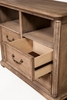 Melbourne French Truffle Wood 4-Drawer TV Chest by Alpine Furniture
