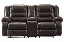 Signature Design Vacherie Chocolate Manual Recliner Loveseat by Ashley