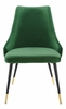 Adorn Emerald Performance Velvet Side Chair by Modway