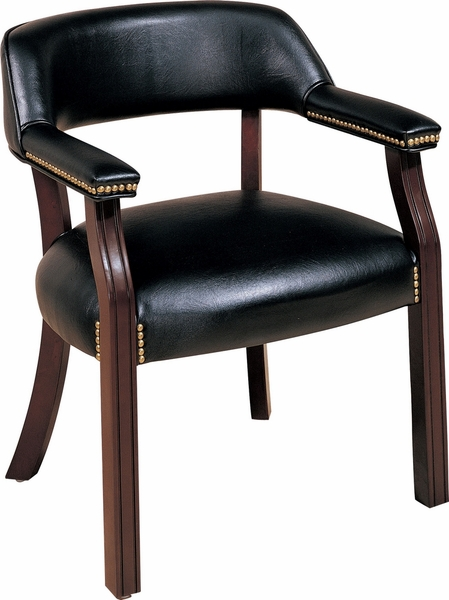 Andie Black Leatherette Upholstered Office Chair by Coaster