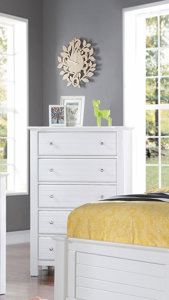 Mallowsea White Pine Wood Chest by Acme