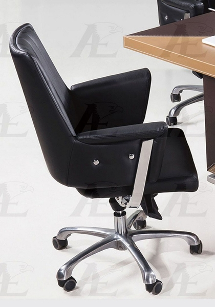 Luna Black PU Leather Office Chair by American Eagle Furniture