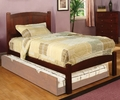 Cara Cherry Wood Full Bed by Furniture of America
