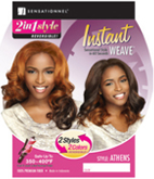 Sensationnel Instant Weave 2 IN 1 Style Reversible Wig
