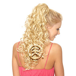 Lord & Cliff Think Pink Drawstring and Clip On Hair Piece Gloria-L