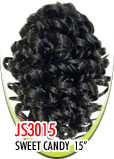 """Beauti Collection Synthetic Drawstring Ponytail Sweet Candy 15"""" JS3015"""