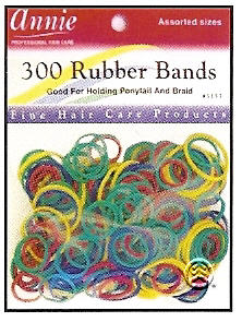 Rubber Bands 300ct Assorted