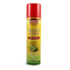 African Pride Miracle Oil Sheen Spray 9oz