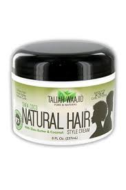 Taliah Waajid Black Earth Naturals Shea-Coco Style Cream 8oz