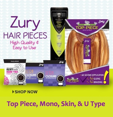 Zury Hair Pieces High Quality & Easy To Use
