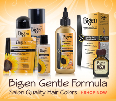 Bigen Hair Care Products are Technologically Advanced Formulas