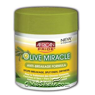 African Pride Olive Miracle Creme  5oz