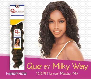 Milky Way Q Human Hair Master Mix Braids