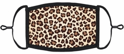 Leopard Fabric Face Mask
