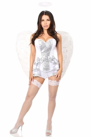 White/Silver/Gold Angel Costumes