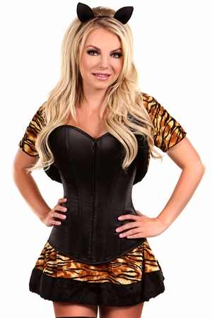 Lavish 4 PC Sexy Tigress Costume