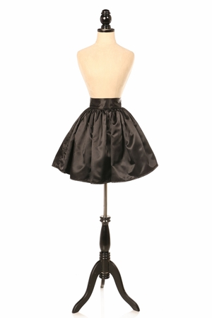 Satin Mini Skirt (many colors available)