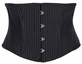 Lavish Pinstripe Mini Cincher - IN STOCK