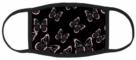 Butterflies Fabric Face Mask