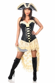 Top Drawer 4 PC Pirate Wench Costume