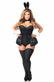 Lavish 5 PC Formal Tuxedo Bunny Corset Costume