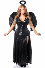 Top Drawer Premium Angel of Darkness Corset Costume