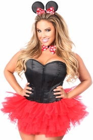Lavish Flirty Mouse Corset Costume