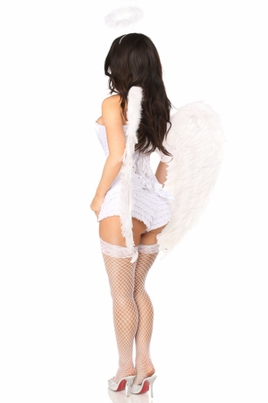 Top Drawer 4 PC Precious Angel Corset Costume