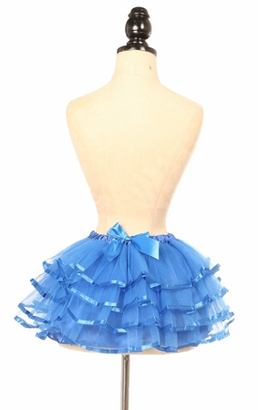 Royal Blue Ribbon Tutu - IN STOCK