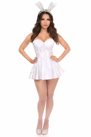 Lavish 3 PC Sexy Bunny Corset Costume