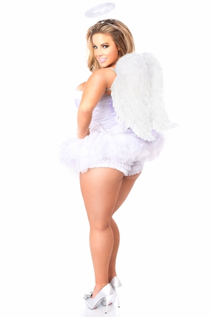 Lavish Flirty Angel Corset Costume