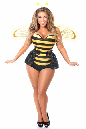 Lavish 5 PC Queen Bee Corset Costume