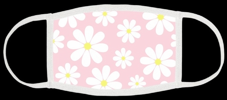 Daisies Fabric Face Mask