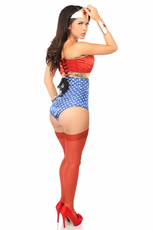 Lavish 3 PC Sexy Superhero Costume