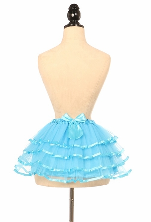 Turquoise Ribbon Tutu - IN STOCK
