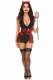 Lavish 4 PC Sexy Devil Costume