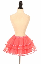 Coral Ribbon Tutu - IN STOCK