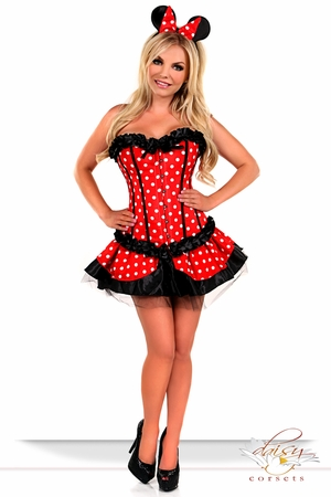 3 PC Sexy Miss Mouse Costume