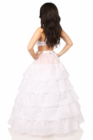 White Hoop Skirt - IN STOCK