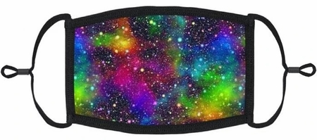 "YOUTH SIZE - ""Starry Nights"" Fabric Face Mask"
